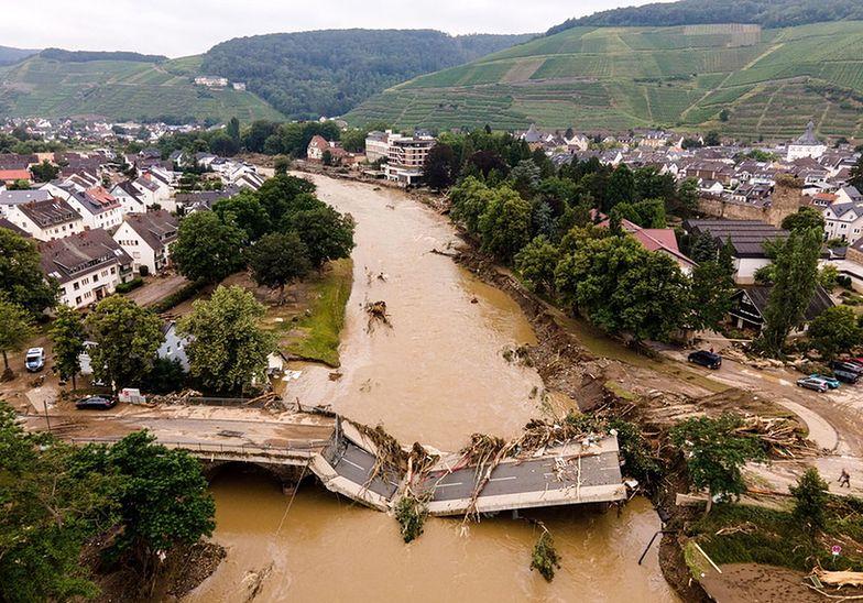Powódź w Niemczech. 30 mld euro na fundusz odbudowy