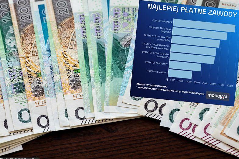 Kto zarabia najlepiej w Polsce? Oto lista zawodów