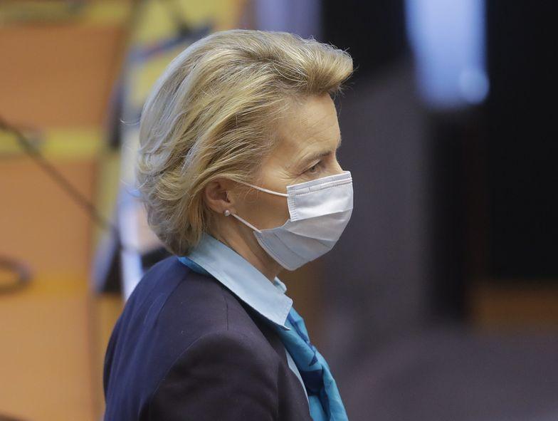 Ursula von der Leyen poinformowała o uruchomieniu 100 mld euro na walkę z kryzysem gospodarczym