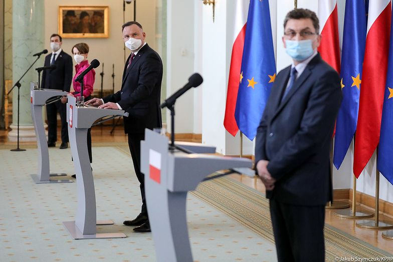 Inauguracja #PolskichSzwalni z udziałem Prezydenta Andrzeja Dudy, wicepremier Jadwigi Emilewicz i prezesa ARP Cezariusza Lesisza