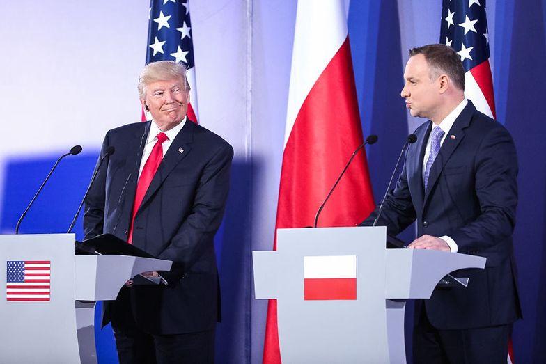 Prezydenci Polski i USA rozmawiać będą m.in. o współpracy wojskowej