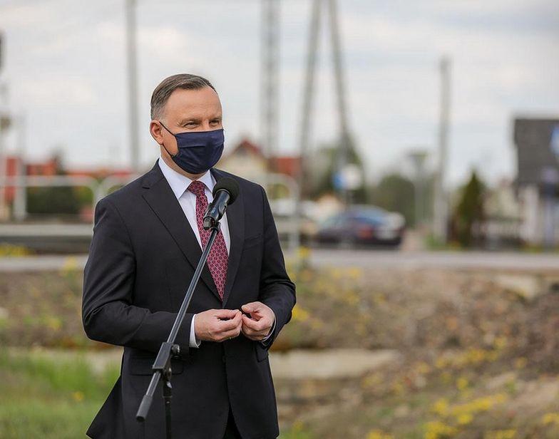 Andrzej Duda zaprezentował założenia programu Kolej +
