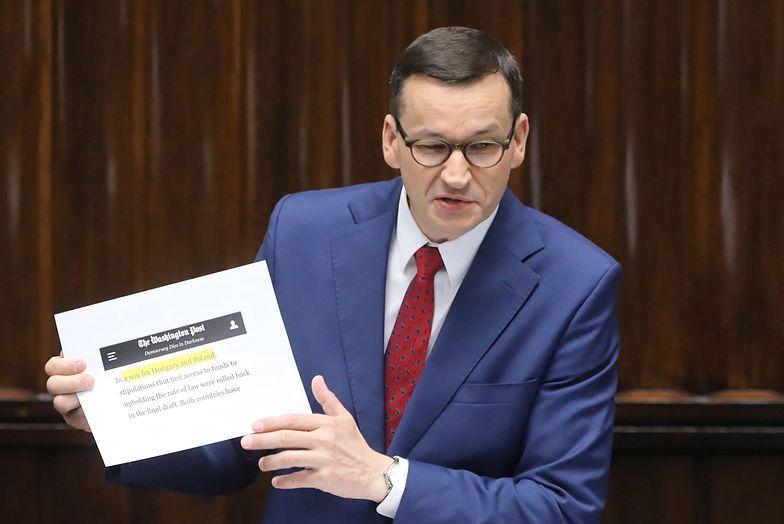 W środę Mateusz Morawiecki przedstawił konkluzje ze szczytu UE
