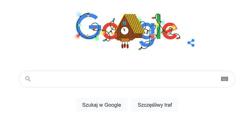 Sylwester 2020 w Google Doodle. Przeglądarka świętuje z nami nowy rok