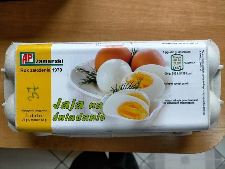 Uwaga na te jajka. GIS ostrzega przed salmonellą na skorupkach