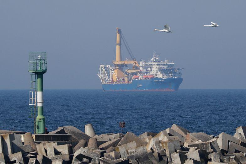 Statek Akademik Czerski - jedna z jednostek, które miałyby ukończyć układanie Nord Stream 2.