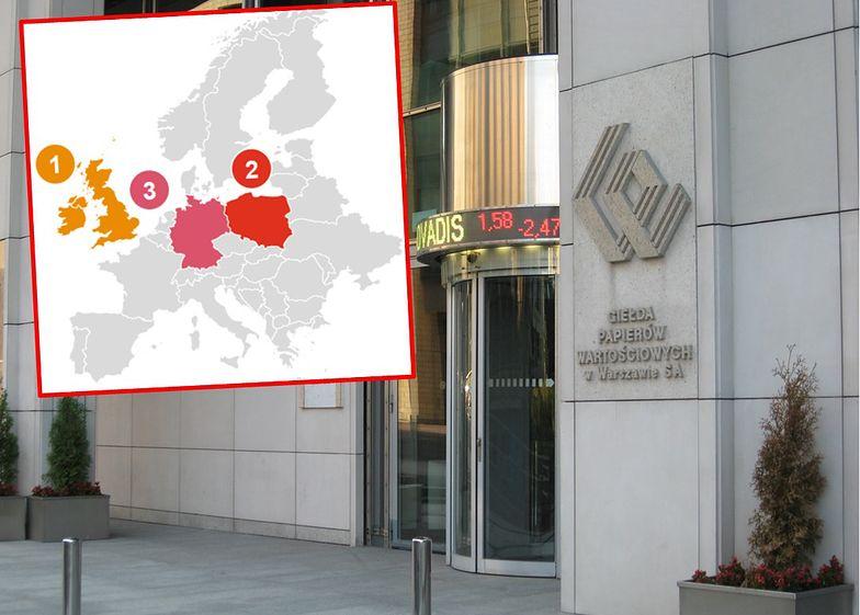 Warszawska giełda druga w Europie. Po debiucie dekady