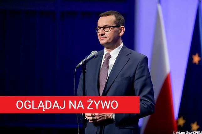 Mateusz Morawiecki i wicepremier Jadwiga Emilewicz to dwaj goście honorowi ostatniego dnia szczytu TOGETAIR