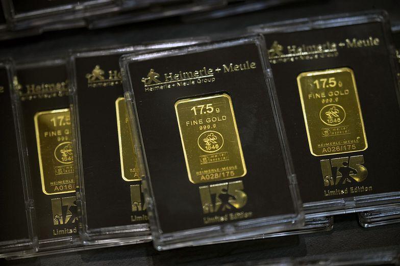 Złoto inwestycyjne robi furorę. Polacy ruszyli po kilkugramowe sztabki