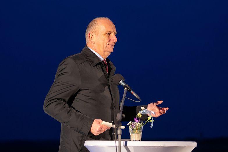 Dietmar Woidke premier Brandenburgii i koordynator rządu w Berlinie.