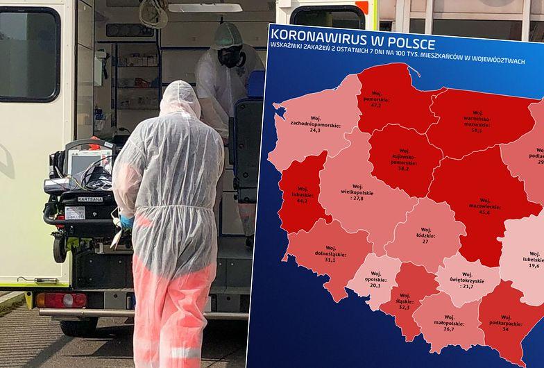 Lockdown w następnych województwach. Kolejne regiony ponad stanem alarmowym