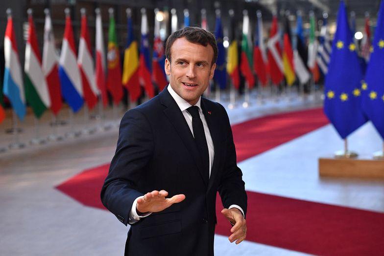 """Emmanuel Macron ogłasza sukces w walce z koronawirusem: """"odnieśliśmy zwycięstwo"""""""