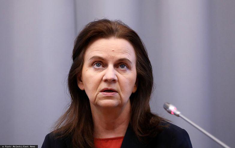 Prezes ZUS Gertruda Uścińska uspokoiła, że choć sytuacja jest nietypowa, pieniędzy na wypłatę świadczeń nie zabraknie.