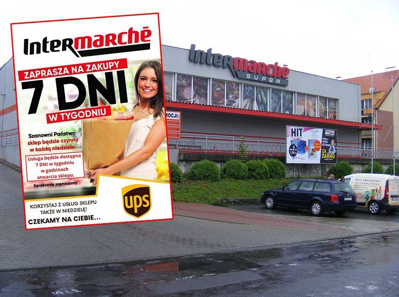 Zakaz handlu w niedziele. Intermarche zaprasza na zakupy 7 dni w tygodniu