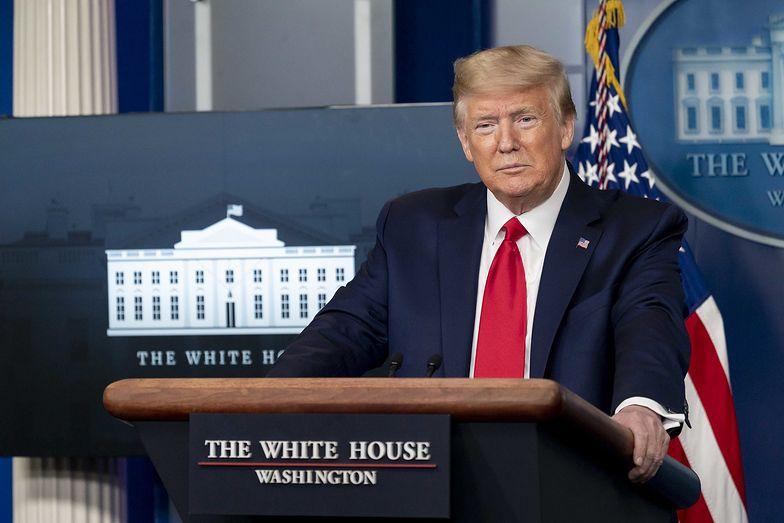Donald Trump, prezydent USA.
