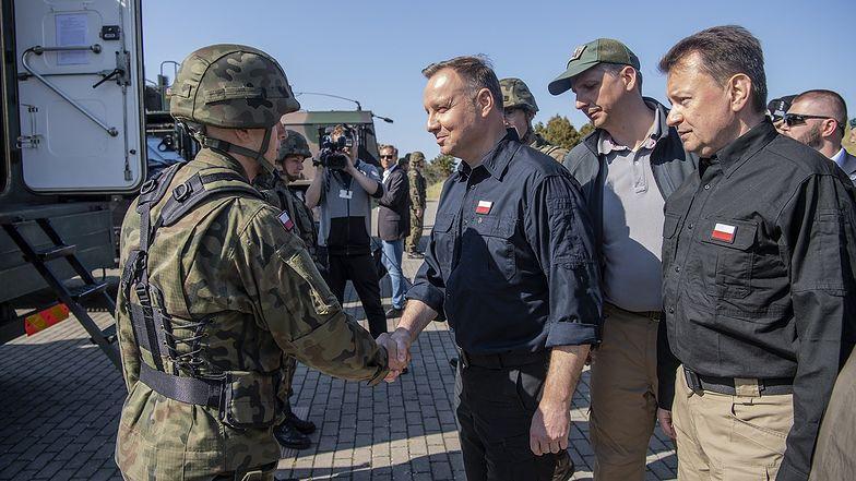 Podczas spotakń z żołnierzami prezydent obiecywał m.in śmigłowce i okręty podwodne. Co z tego udało się zrealizować?