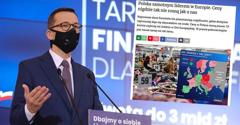 Premier stawia polską gospodarkę za przykład. Zapomniał o kilku statystykach