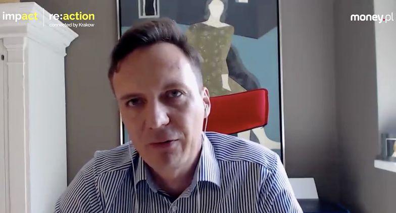 Artur Waliszewski, dyrektor biznesowy Google w Europie Środkowo – Wschodniej.