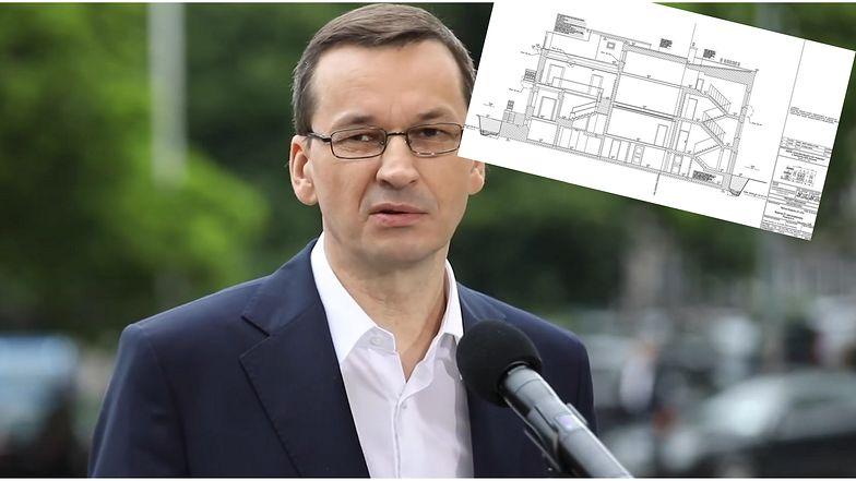 Wyciekły plany willi premiera. Rzuty pilnie strzeżonego budynku krążą po sieci