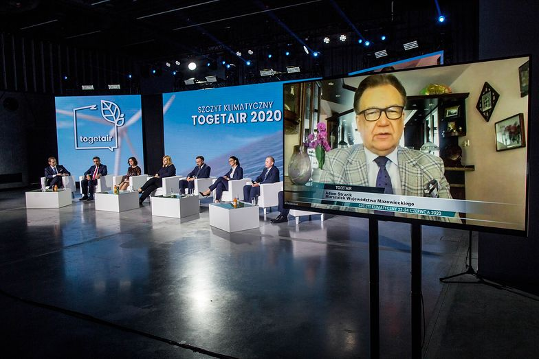 Adam Struzik, marszałek Województwa Mazowieckiego: W największym wymiarze niezbędne są szybkie zmiany w energetyce oraz przemyśle, związane z emisją gazów cieplarnianych.