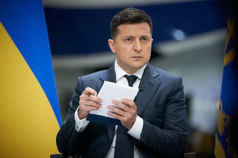 Ukraina. Zełenski: Nord Stream 2, to broń w ręku Putina