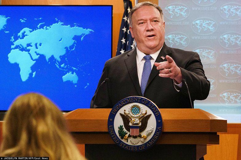 Chiny nakładają sankcje na 28 obywateli USA. Obejmą też byłego sekretarza stanu Pompeo