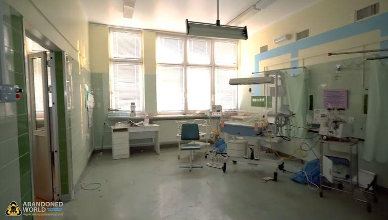 Szpital od 6 lat stoi pusty. W budynku porzucony sprzęt