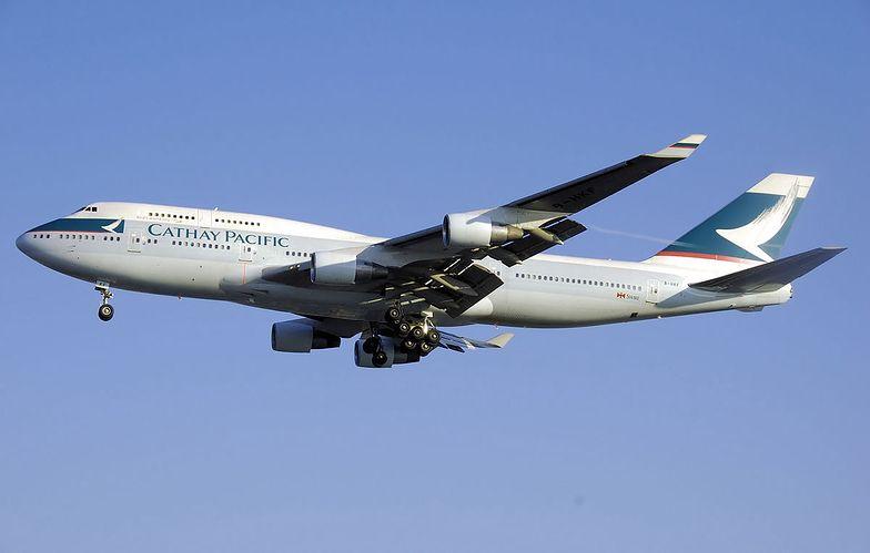 Cathay Pacific Airlines to główne linie lotnicze Hongkongu.
