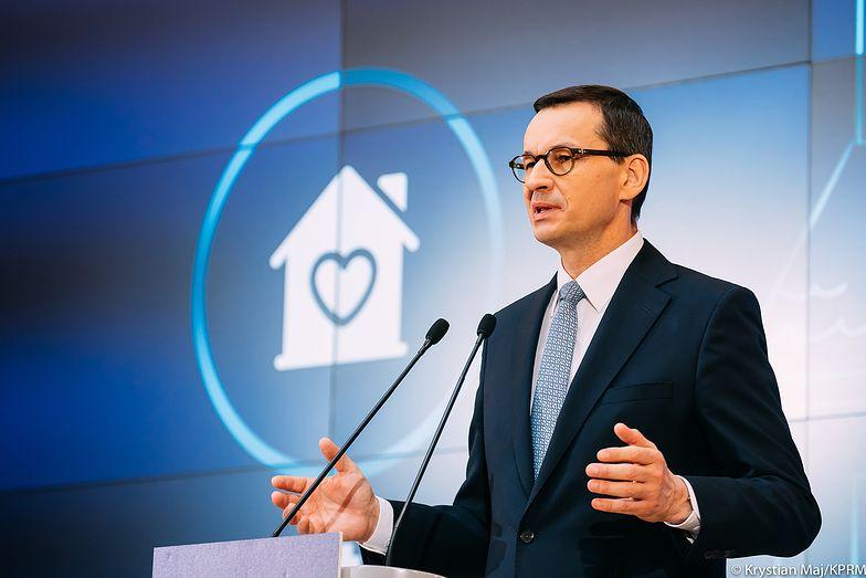 Premier Mateusz Morawiecki o programach społecznych w czasie pandemii