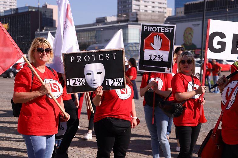 Protest pracowników sądów. Mają dość pracy jak w fabryce