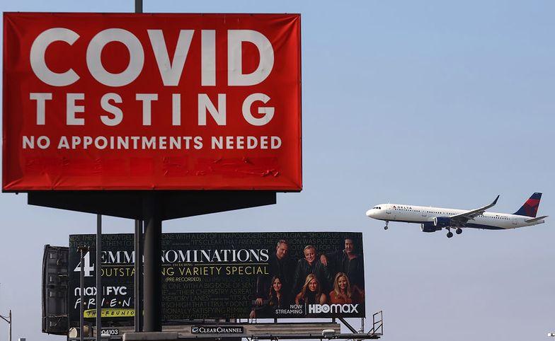 Szczepienie albo 200 dolarów miesięcznie. Delta Air Lines zmieniają zasady
