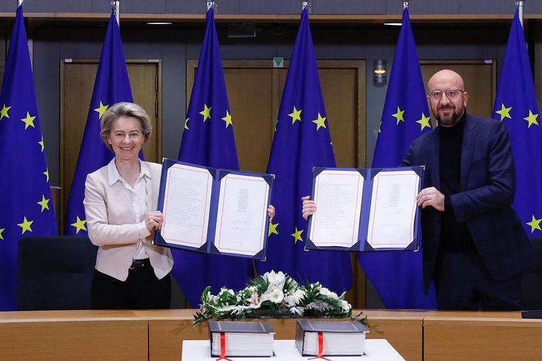 Umowa UE z Wielką Brytanią podpisana. Nie będzie twardego brexitu