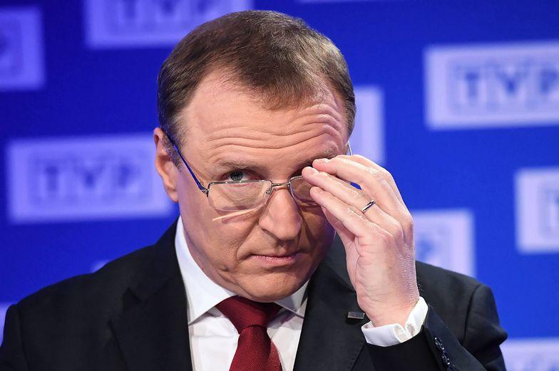 TVP nie chce ujawnić, ile zarabiał Kurski. Poseł zapowiada pozew
