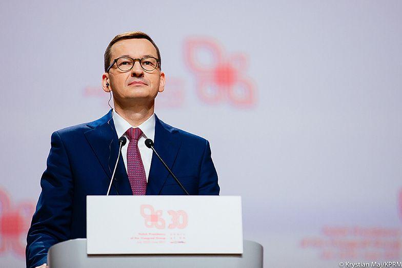 """Morawiecki o decyzji TSUE. """"Żadna decyzja nie może narażać polskich obywateli"""""""