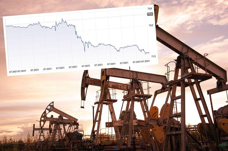 Nagły zwrot na rynku ropy naftowej. Ceny poleciały w dół - najmocniej od maja
