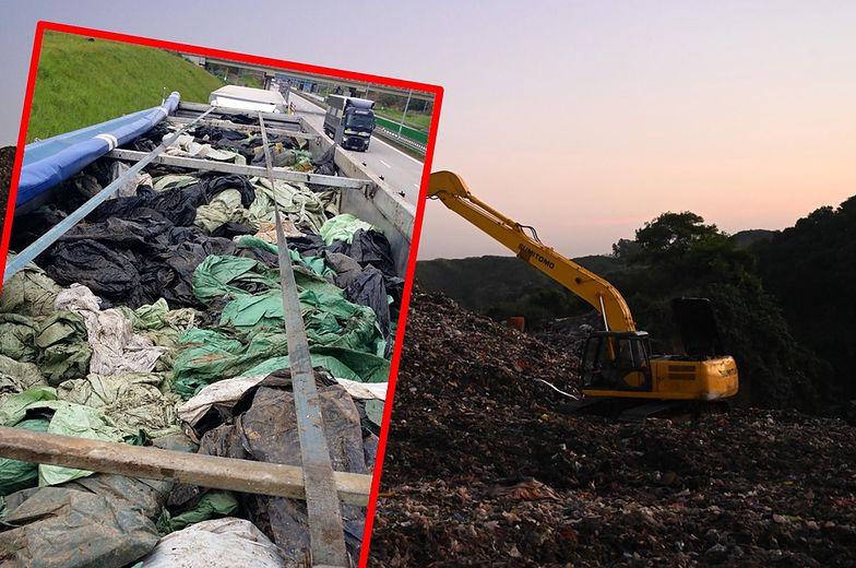 46 ton odpadów zatrzymanych na granicy. Interwencja służb