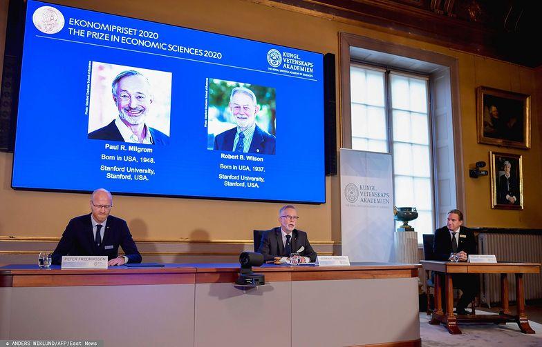 Nagroda Nobla z ekonomii 2020 r. Laureatami zostali Paul R. Milgrom i Robert B. Wilson