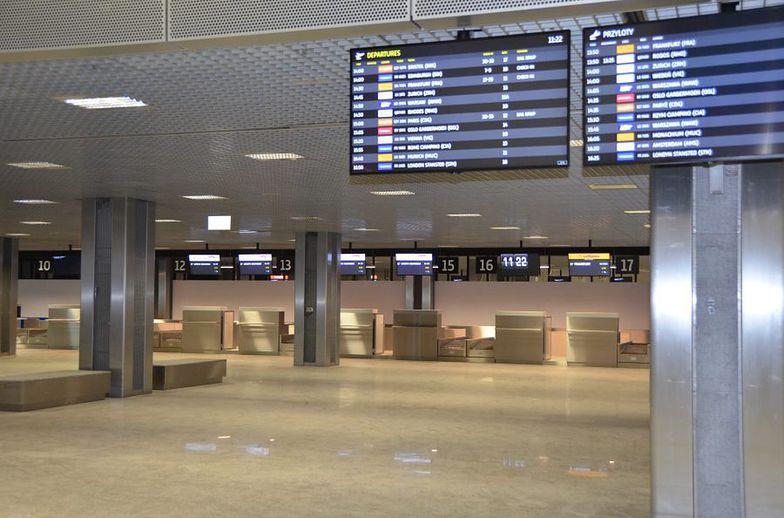Lotnisko w Krakowie w kwietniu obsłużyło zaledwie 52 pasażerów