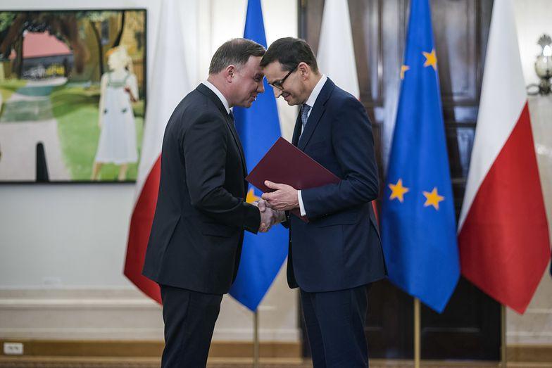 Duda spotkał się z Morawieckim. Miał omówić Nowy Polski Ład