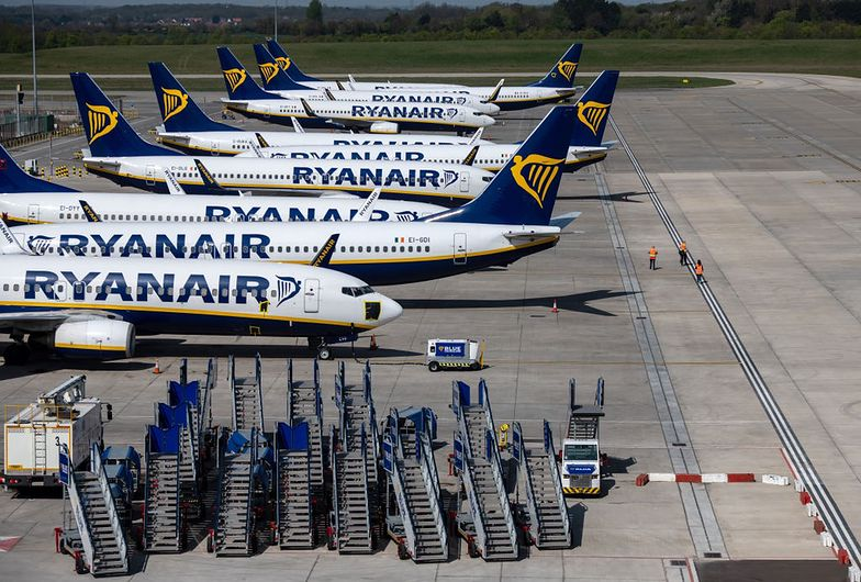 Szef Ryanaira przekonuje, że gdy jeden gracz dostaje pomoc państwowa, może zaburzyć równowagę na rynku