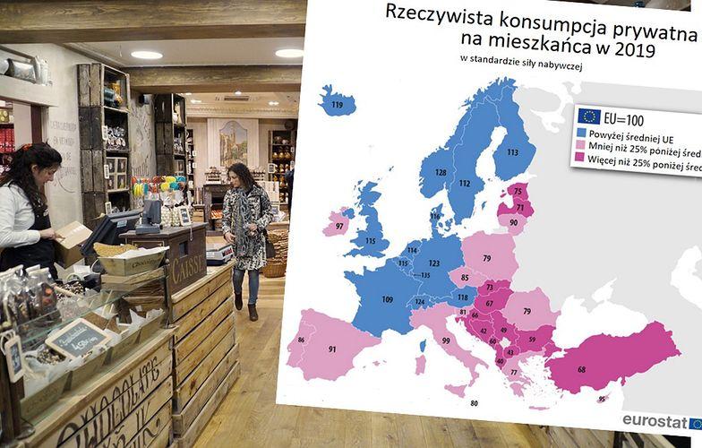 Ranking europejskiego dobrobytu. Konsumpcja szybko nie wróci do poziomu sprzed kryzysu.