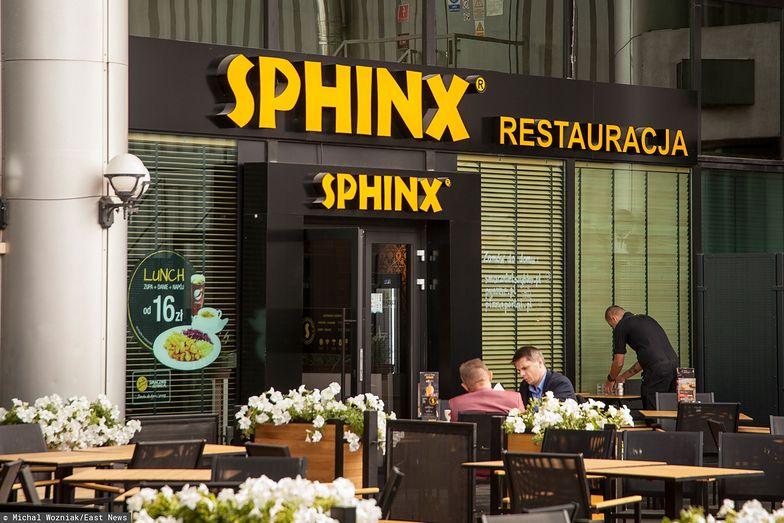 Nie wszystkie restauracje Sphinx otworzyły się po odmrożeniu gospodarki.