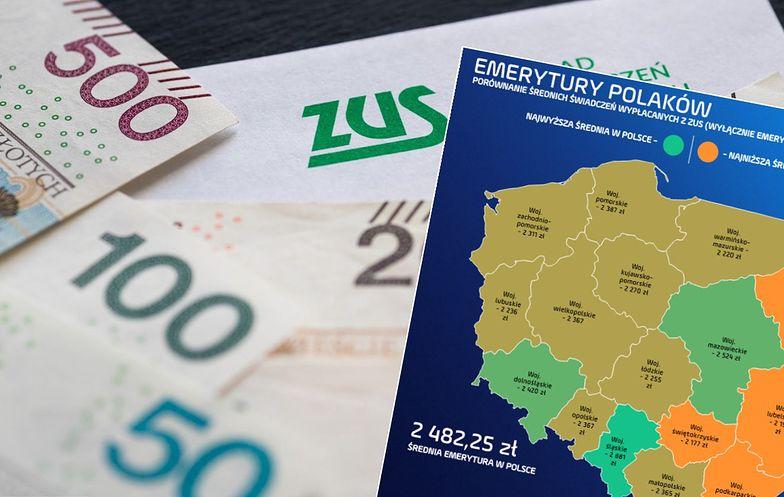 Emerytury nie są identyczne w poszczególnych częściach kraju. Na Śląsku seniorzy żyją zdecydowanie lepiej.