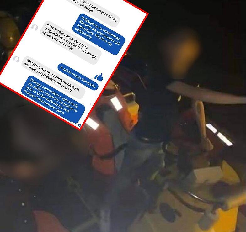 Pijani weszli na łódź straży i ukradli kamizelki. Teraz chcą zapłacić za szkody