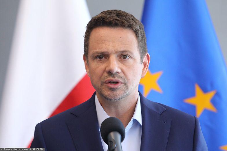 Rafał Trzaskowski w sobotę odwiedził Kalisz