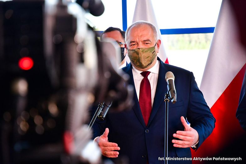 """Sasin: zamknięcie kopalni w Turowie to """"spór czysto polityczny"""". Straty wylicza na 13,5 mld zł"""