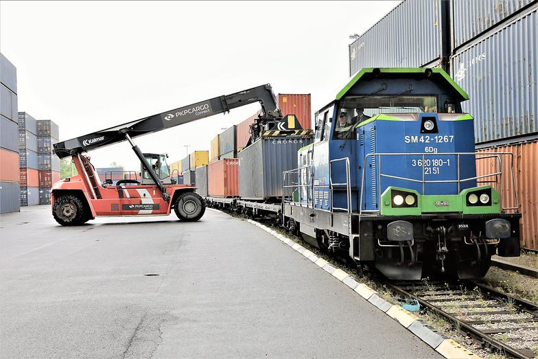 Nowy Jedwabny Szlak. Pociąg do Chin wyruszył spod Wrocławia