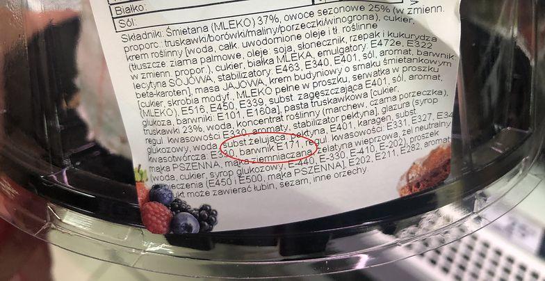 """Koniec stosowania kontrowersyjnego dodatku do żywności? """"Nie da się potwierdzić jego bezpieczeństwa"""""""