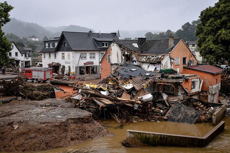 Powódź w Niemczech kosztowała fortunę. Straty idą w miliardy euro