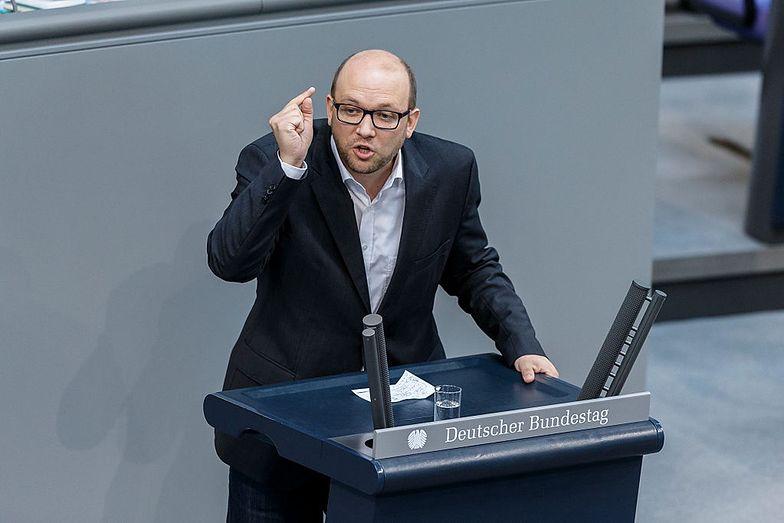 Manuel Sarrazin (na zdjęciu) z Zielonych przedstawił swój plan wobec polskich żądań.